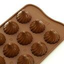 チョコレート型 シリコンモールド CHOCO FLAME(チョコフレイム) チョコ型 SCG-047 クリスマス チョコレートモール…
