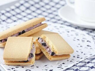 ブルーベリーバターサンドクッキー(5個)
