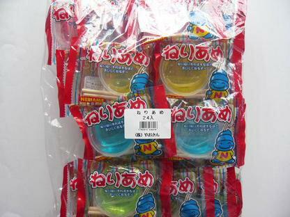 やおきん ねりあめ 24袋入 駄菓子