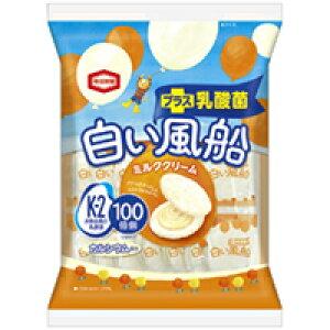 亀田製菓 白い風船ミルククリーム 18枚 12入