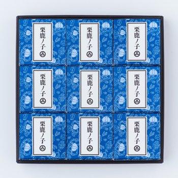 小布施堂 栗鹿の子ミニ 9個入り 小布施堂 信州長野お土産に大人気な栗きんとん(栗菓子)です!!