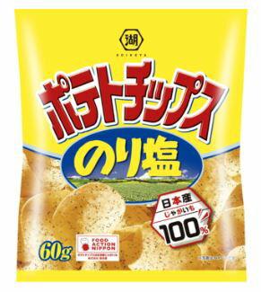 コイケヤ ポテトチップス のり塩 60g 12袋入
