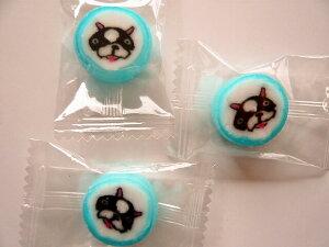 フレンチブルドッグ犬飴キャンディー 50個入 1袋 個包装 グッズ プレゼント 贈り物  犬 ドッグ ギフト かわいい