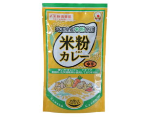 井上スパイス 米粉カレー中辛 160g×10袋カレールゥ(フレーク状)着色料・化学調味料不使用 無添加 米粉