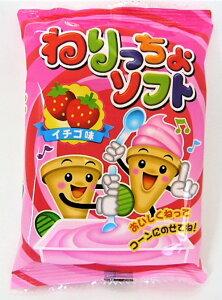 マルタ食品 ねりっちょソフト(イチゴ味) 24個入 駄菓子 知育菓子