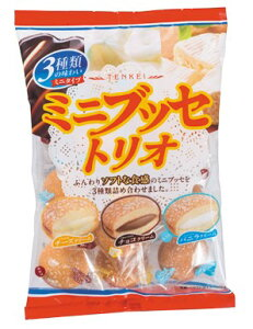 天恵製菓 ミニブッセトリオ 140g×12袋入 ケース販売