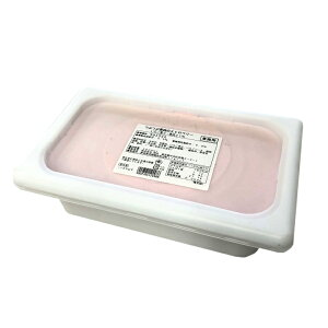 明治 つぶつぶ果肉のストロベリー 2L 業務用 ラクトアイス いちご アイス