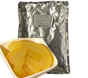 リンゴプレザーブ 国産 ふじ 2kg うすぎり 業務用 アップルプレザーブ アップルパイ アップル シロップ漬け