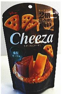 江崎グリコ 生チーズのチーザ 燻製チーズ味40g×10袋
