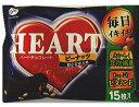 不二家 ハートチョコピーナッツ 甘さひかえめ 15枚×15袋