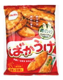 栗山米菓 ばかうけ 青のり18枚(2枚×9袋)×12袋