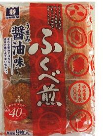 日新製菓 ふくべ煎 醤油味 9枚×12袋