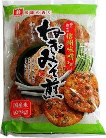 日新製菓 ねぎみそ煎 8枚×12袋