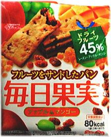 グリコ 毎日果実 アップル&マンゴー6枚(3枚×2袋)×10個