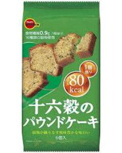 ブルボン 十六穀のパウンドケーキ 6個×6袋