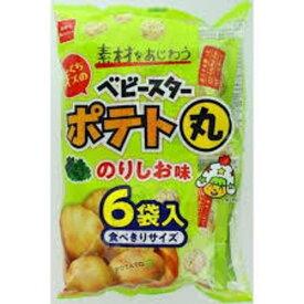 おやつカンパニー ポテト丸 のりしお味 6P 108g ×12袋