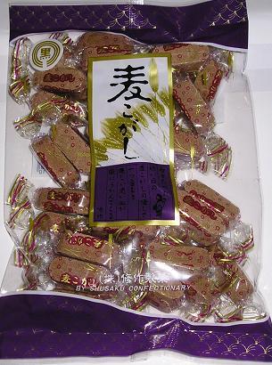【心ばかりですが…おまけつきます☆】修作製菓水玉麦打◆240g×6袋入