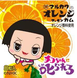 【心ばかりですが…おまけつきます☆】丸川製菓チコちゃんオレンジガム8粒×18個入