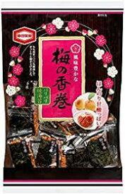 【心ばかりですが…おまけつきます☆】亀田製菓梅の香巻16枚×12袋入