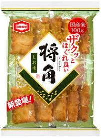 【心ばかりですが…おまけつきます☆】亀田製菓将角しお*10枚×6袋入