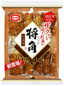 【心ばかりですが…おまけつきます☆】亀田製菓将角醤油*10枚×6袋入