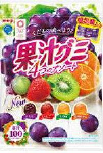 【おまけつきます☆】明治果汁グミアソート個包装90g×6袋入