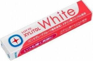 【心ばかりですが…おまけつきます☆】ロッテキシリトールホワイトピンクグレープフルーツ14粒×20個入