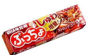 【心ばかりですが…おまけつきます☆】UHA味覚糖ぷっちょスティックコーラ10粒×10個入