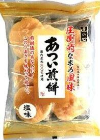 【心ばかりですが…おまけつきます☆】丸彦製菓あつい煎餅*7枚×6袋入