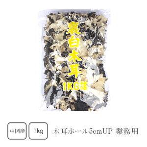 木耳 ホール5cmUP 1kg(業務用)【きくらげ】【キクラゲ】【木耳】