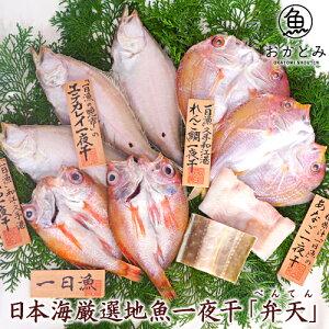 お祝い ギフト 干物ギフト 無添加 【送料無料】日本海厳選地魚一夜干「弁天」(べんてん)≪のどぐろ・れんこ鯛・白かれい・穴子≫国産 島根産 プレゼント 詰め合わせ 御祝 内祝 誕生日