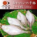 白かれいの干物(3〜4枚・300g)【RCP】【岡富商店】【干カレイ・エテカレイ】【kf】