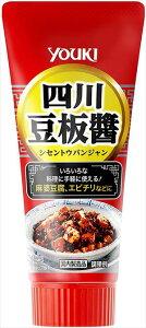 送料無料 ユウキ食品 四川豆板醤(チューブ) 100g×10本