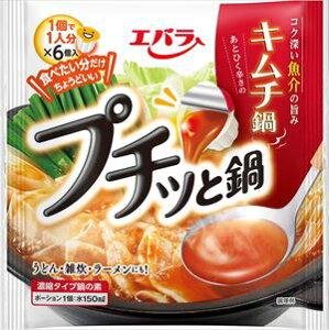 送料無料 エバラ プチッと鍋 キムチ鍋 (23g×6個入)×12袋