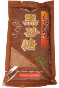 送料無料 トマトコーポレーション 黒砂糖(粉状) 200g×24個