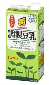 マルサン 調製豆乳 1L ×6本 マルサンアイ