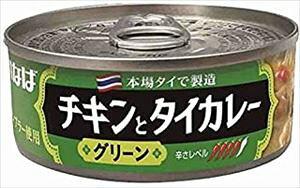 いなば食品 チキンとタイカレー グリーン 115g缶×24個【送料無料】(北海道、沖縄、離島は1250円頂戴します)