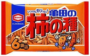亀田製菓 亀田の柿の種6袋詰 200g×12袋【送料無料】