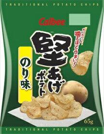 カルビー 堅あげポテトのり味 65g × 12