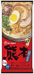 送料無料 マルタイ 熊本黒マー油とんこつラーメン 186g×15袋