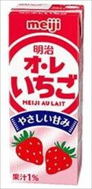 明治オ・レいちご 200ml × 24本