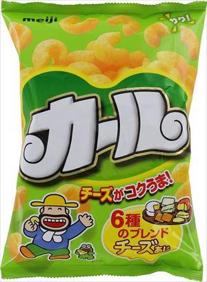 明治 カールチーズ味 64g × 10個 (ケース)
