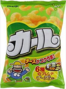 送料無料 明治 カールチーズ味 64g × 10個 (ケース)
