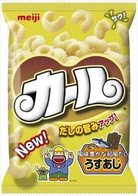 明治 カールうすあじ 68g × 10個 (ケース)