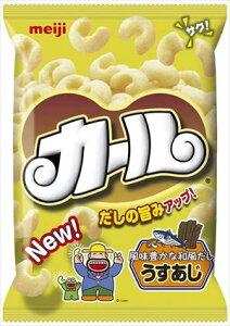 送料無料 明治 カールうすあじ 68g × 10個 (ケース)