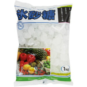 馬印 氷砂糖 クリスタル 1kg