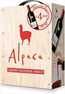 熟したブラックチェリーやカシスの果実味とまろやかなコクが特徴 サンタ・ヘレナ・アルパカ・カベルネ・メルロー 赤ワイン ミディアムボディ チリ 3000ml