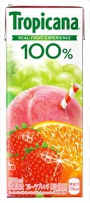 キリン トロピカーナ100%フルーツブレンド 250ml × 12本入り × 2ケース(24本)