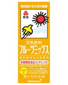 豆乳飲料 フルーツミックス 200ml×18本 紙パック