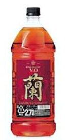 キングブランデー V.O 蘭 37度 2700ml 2.7L【宝酒造】【02P03Dec16】